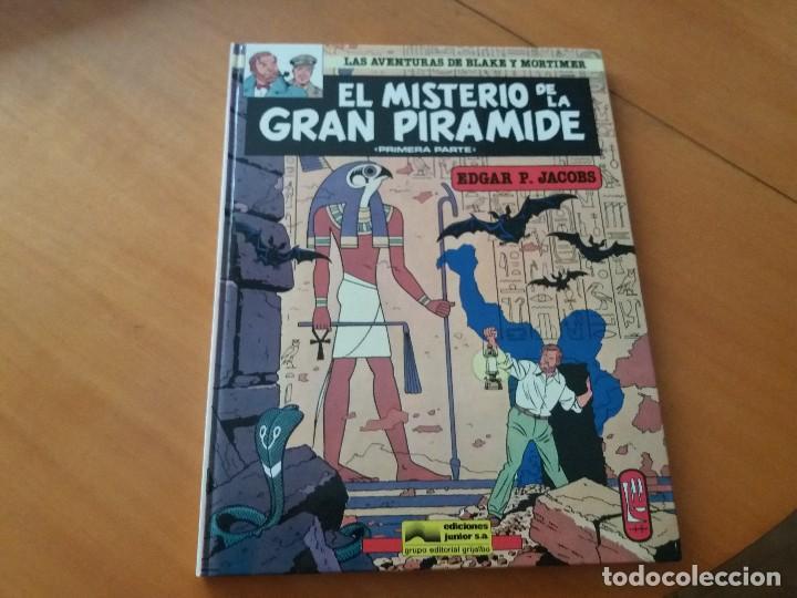 EL MISTERIO DE LA GRAN PIRÁMIDE. I PARTE. BLAKE Y MORTIMER. N° 1. JUNIOR. GRIJALBO. 1983. (Tebeos y Comics - Grijalbo - Blake y Mortimer)
