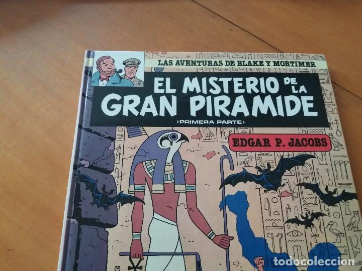 Cómics: El misterio de la gran pirámide. I parte. Blake y Mortimer. N° 1. Junior. Grijalbo. 1983. - Foto 2 - 127989235