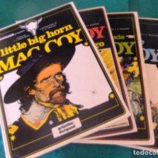 Cómics: MAC COY LOTE DE 4 NUMEROS EDICIONES JUNIOR. Lote 128425303