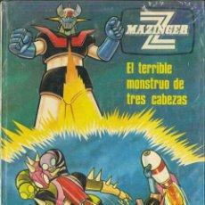 Cómics: MAZINGER Z, EL TERRIBLE MONSTRUO DE TRES CABEZAS. Lote 128458367