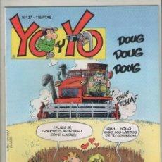 Cómics: YO Y YO-GRIJALBO-AÑO 1987-COLOR-FORMATO GRAPA-Nº 27. Lote 128472539