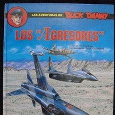 Comics : LAS AVENTURAS DE BUCK DANNY - LOS AGRESORES - Nº 44 - EDICIONES JUNIOR, 1990 -. Lote 128473991
