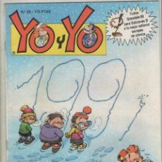 Cómics: YO Y YO-GRIJALBO-AÑO 1987-COLOR-FORMATO GRAPA-Nº 20. Lote 128474311