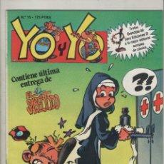 Cómics: YO Y YO-GRIJALBO-AÑO 1987-COLOR-FORMATO GRAPA-Nº 15. Lote 128474535