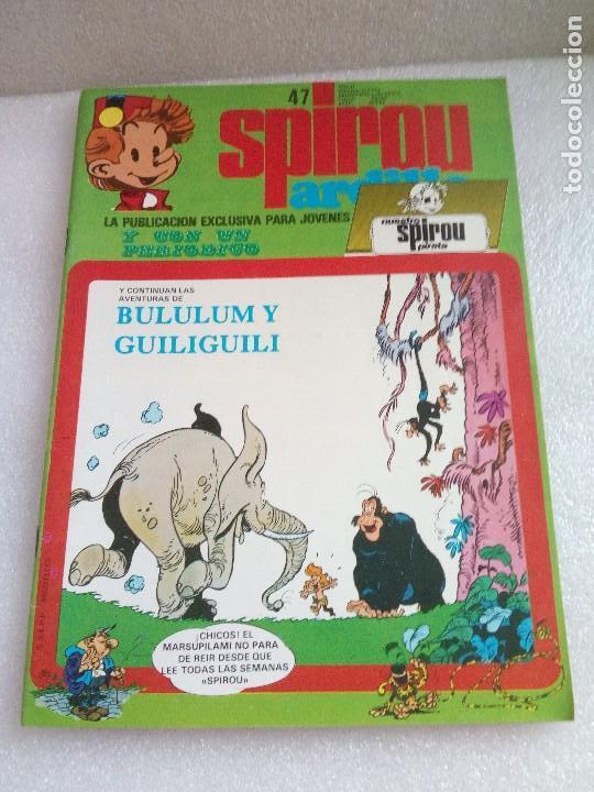 SPIROU ARDILLA 47 INCLUYE SPIROU PIRATA MUY BUEN ESTADO (Tebeos y Comics - Grijalbo - Spirou)