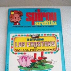 Cómics: SPIROU ARDILLA 35 EN PERFECTO ESTADO . Lote 128644839