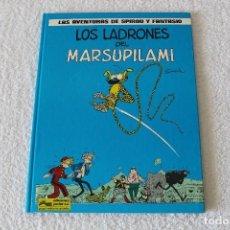 Cómics: LAS AVENTURAS DE SPIROU Y FANTASIO. Nº3 LOS LADRONES DEL MARSUPILAMI - GRIJALBO 1987. Lote 128728903