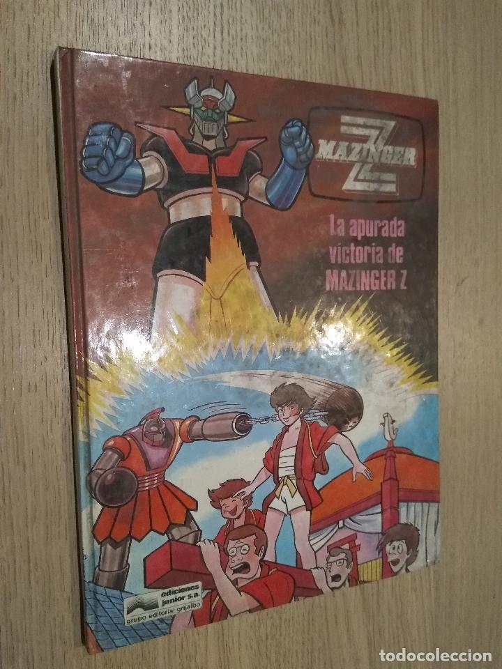 MAZINGER Z. LA APURADA VICTORIA DE MAZINGER Z. JUNIOR S.A. GRIJALBO. 1978 (Tebeos y Comics - Grijalbo - Otros)