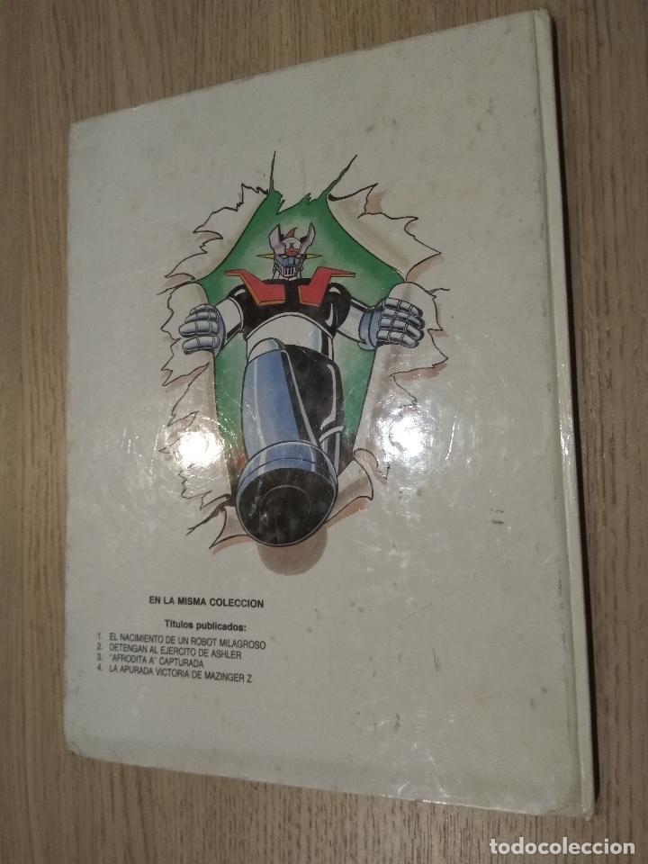 Cómics: MAZINGER Z. LA APURADA VICTORIA DE MAZINGER Z. JUNIOR S.A. GRIJALBO. 1978 - Foto 3 - 128952115