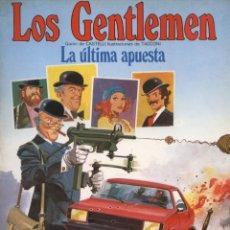 Cómics - Comic Los Gentlemen, nº 2: La ultima apuesta - Ediciones Junior Grijalbo - 129196011