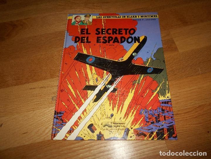 EL SECRETO DEL ESPADÓN TOMO 1. LAS AVENTURAS DE BLAKE Y MORTIMER. EDGAR P. JACOBS. BUEN ESTADO (Tebeos y Comics - Grijalbo - Otros)