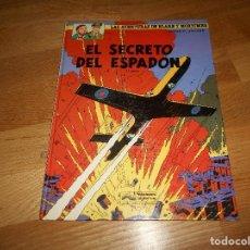 Cómics: EL SECRETO DEL ESPADÓN TOMO 1. LAS AVENTURAS DE BLAKE Y MORTIMER. EDGAR P. JACOBS. BUEN ESTADO. Lote 129219879