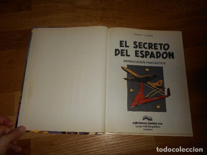 Cómics: EL SECRETO DEL ESPADÓN TOMO 1. LAS AVENTURAS DE BLAKE Y MORTIMER. EDGAR P. JACOBS. BUEN ESTADO - Foto 2 - 129219879