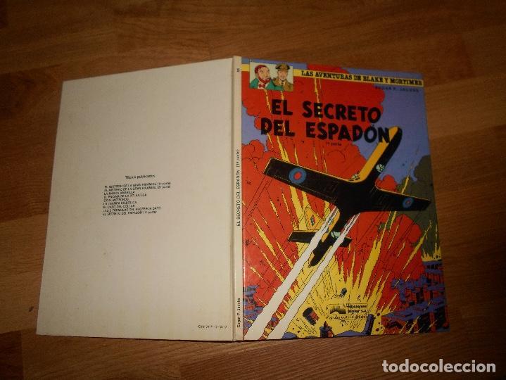Cómics: EL SECRETO DEL ESPADÓN TOMO 1. LAS AVENTURAS DE BLAKE Y MORTIMER. EDGAR P. JACOBS. BUEN ESTADO - Foto 7 - 129219879