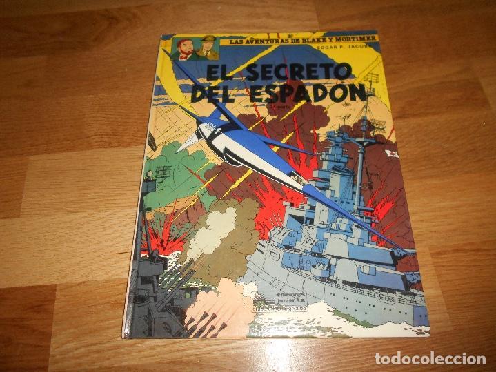 LAS AVENTURAS DE BLAKE Y MORTIMER. 11. EL SECRETO DEL ESPADON. 3ª PARTE. EDGAR P. JACOBS. 1987 (Tebeos y Comics - Grijalbo - Otros)