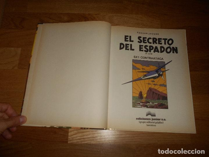Cómics: LAS AVENTURAS DE BLAKE Y MORTIMER. 11. EL SECRETO DEL ESPADON. 3ª PARTE. EDGAR P. JACOBS. 1987 - Foto 2 - 129220175