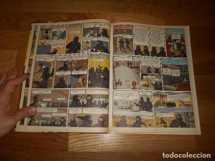 Cómics: LAS AVENTURAS DE BLAKE Y MORTIMER. 11. EL SECRETO DEL ESPADON. 3ª PARTE. EDGAR P. JACOBS. 1987 - Foto 3 - 129220175