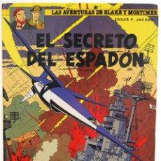 Cómics: LAS AVENTURAS DE BLAKE Y MORTIMER Nº 11. EL SECRETO DEL ESPADÓN. 3ª PARTE - EDGAR P. JACOBS. Lote 129323215