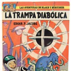 Cómics: LAS AVENTURAS DE BLAKE Y MORTIMER Nº 6. LA TRAMPA DIABÓLICA - EDGAR P. JACOBS. Lote 129324139