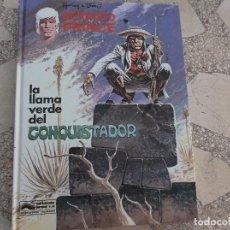 Cómics: LA LLAMA VERDE DEL CONQUISTADOR. GRIJALBO. BERNARD PRINCE. HERMANN & GREG. Lote 129324911
