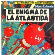 Cómics: LAS AVENTURAS DE BLAKE Y MORTIMER Nº 4. EL ENIGMA DE LA ATLÁNTIDA - EDGAR P. JACOBS. Lote 129326823