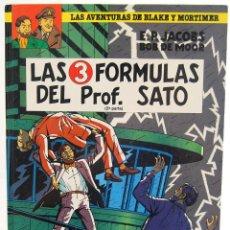 Cómics: LAS AVENTURAS DE BLAKE Y MORTIMER Nº 12. LAS 3 FÓRMULAS DEL PROF. SATO. 2ª PARTE - EDGAR P. JACOBS. Lote 129327131