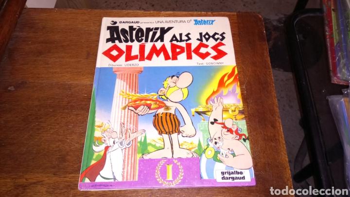 ASTÈRIX ALA JOCS OLÌMPICS, TAPA DURA 1980 (Tebeos y Comics - Grijalbo - Asterix)