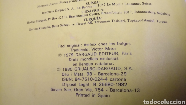 Cómics: Astèrix a bèlgica 1980, tapa dura - Foto 2 - 129407270