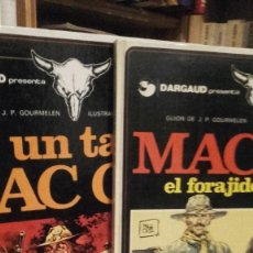 Cómics: 2 TITULOS MC COY. UN TAL MC COY Y EL FORAJIDO. 2 Y 12. TAPA DURA.. Lote 129466835