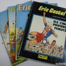 Cómics: 4 TOMOS ERIC CASTEL. Lote 129637603