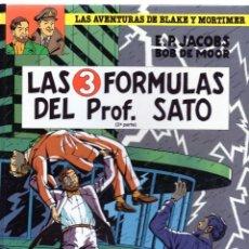 Cómics: LAS AVENTURAS DE BLAKE Y MORTIMER N. 12 LAS 3 FORMULAS DEL PROFESOR SATO 2 PARTE. Lote 129654495