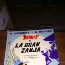 Cómics: ASTÈRIX, LA GRAN ZANJA, 1980. TAPA DURA. Lote 129972703