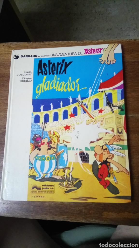 ASTÈRIX GLADIADOR, 1978, TAPA DURA (Tebeos y Comics - Grijalbo - Asterix)