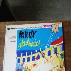 Cómics: ASTÈRIX GLADIADOR, 1978, TAPA DURA. Lote 129973788