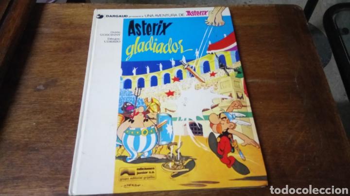 Cómics: Astèrix gladiador, 1978, tapa dura - Foto 2 - 129973788