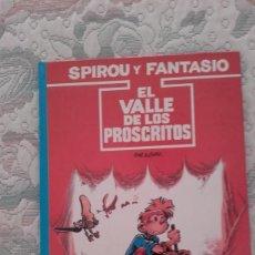 Cómics: SPIROU Y FANTASIO Nº 27. EL VALLE DE LOS PROSCRITOS, DE TOME Y JANRY. Lote 130101179