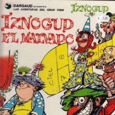 Cómics: LAS AVENTURAS DEL GRAN VISIR IZNOGUD Nº 5 EL MALVADO - ALBUM TAPA DURA EDICIONES JUNIOR - GRIJALBO. Lote 130271330