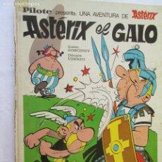Cómics: ASTÉRIX EL GALO Nº. 1.- EDITORIAL BRUGUERA BARCELONA 1973. Lote 130358970