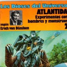 Cómics: LOS DIOSES DEL UNIVERSO. ATLANTIDA. EXPERIMENTOS CON HOMBRES Y MONSTRUOS. Nº 2 EDICIONES JUNIOR 1979. Lote 130488246