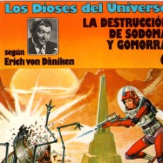 Cómics: LOS DIOSES DEL UNIVERSO. LA DESTRUCCION DE SODOMA Y GOMORRA. Nº 6 EDICIONES JUNIOR 1979. Lote 130488410