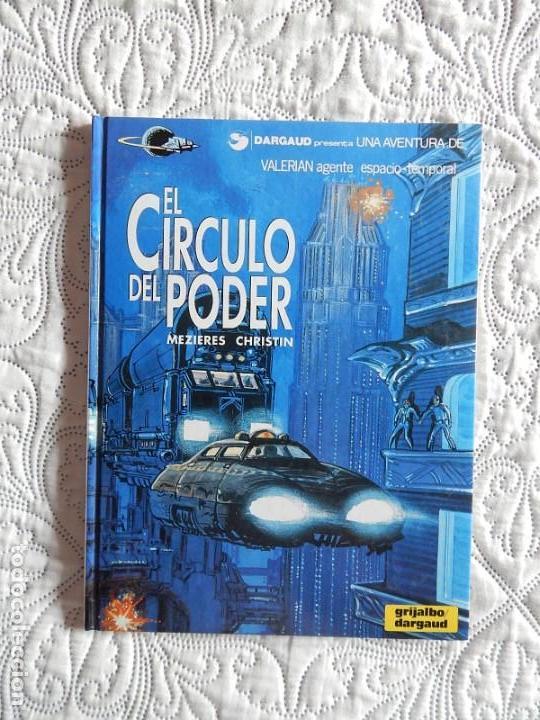UNA AVENTURA DE VALERIAN AGENTE ESPACIO - TEMPORAL - EL CIRCULO DEL PODER N. 15 (Tebeos y Comics - Grijalbo - Valerian)