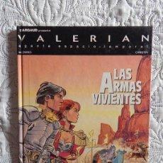 Cómics: UNA AVENTURA DE VALERIAN AGENTE ESPACIO - TEMPORAL - LAS ARMAS VIVIENTES N. 14. Lote 184270065
