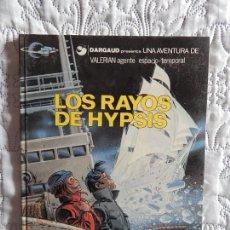 Cómics: UNA AVENTURA DE VALERIAN AGENTE ESPACIO - TEMPORAL - LOS RAYOS DE HYPSIS N. 12. Lote 130661133