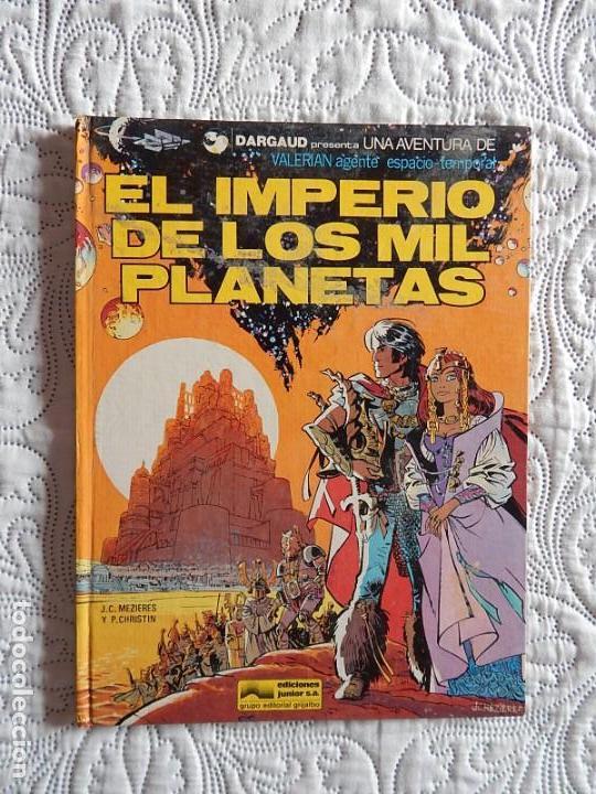 UNA AVENTURA DE VALERIAN AGENTE ESPACIO - TEMPORAL - EL IMPERIO DE LOS PLANETAS N. 1 (Tebeos y Comics - Grijalbo - Valerian)