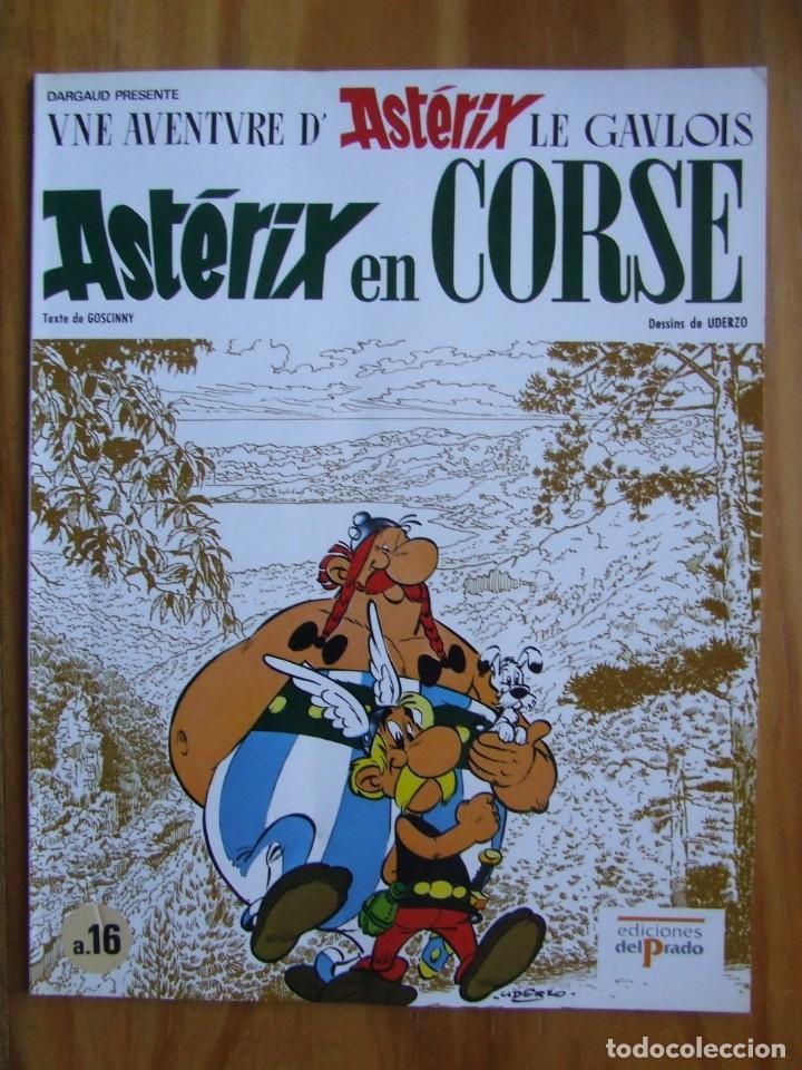ASTERIX EN CORSE - EDICIONES DEL PRADO - TAPA BLANDA (Tebeos y Comics - Grijalbo - Asterix)
