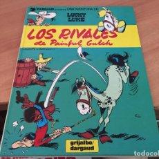 Cómics: LUCKY LUKE Nº 33 LOS RIVALES DE PAINFUL GLUCH TAPA DURA 1987 (GRIJALBO) (COIM7). Lote 130704654