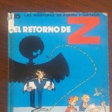Cómics: ESPIRU SPIROU JAIMES LIBROS Nº 10 EL RETORNO DE Z. Lote 130704909