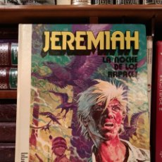 Cómics: JEREMIAH. LA NOCHE DE LOS RAPACES. HERMANN. EDICIONES JUNIOR, 1979. ISBN 8474191777.. Lote 130754064