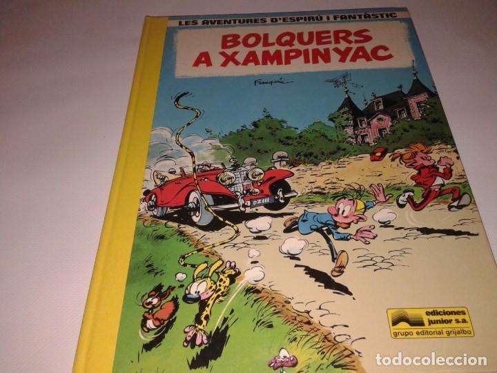 LAS AVENTURES D´ESPIRU I FANTASTIC, BOLQUERS A XAMPINYAC (Tebeos y Comics - Grijalbo - Otros)