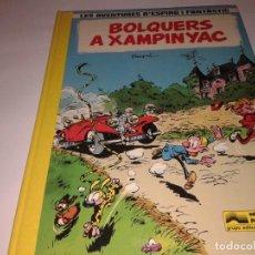 Cómics: LAS AVENTURES D´ESPIRU I FANTASTIC, BOLQUERS A XAMPINYAC. Lote 130970384